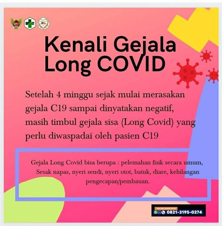 Kenali gejala Long Covid 19