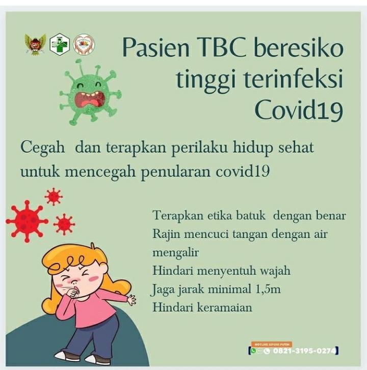 Pasien TBC beresiko tinggi terinfeksi…